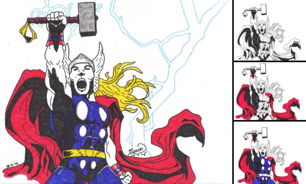 Thor by Manon.V